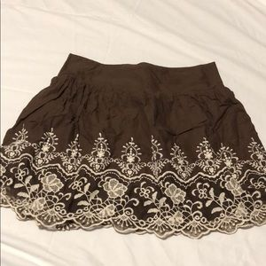 Charlotte Rouse Brown Skirt